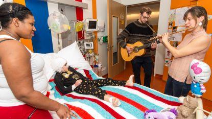 Professionele muzikanten treden voortaan wekelijks op in twee ziekenhuizen