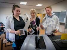 Mobiel stemmen op het Dorenweerd College moet nog groeien