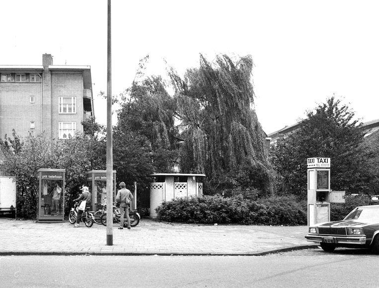 Linnaeuskade, 1982  Beeld Stadsarchief