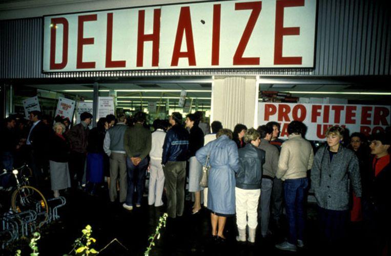 Bij de overval op de Delhaize van Aalst vielen op 9 november 1985 acht doden.
