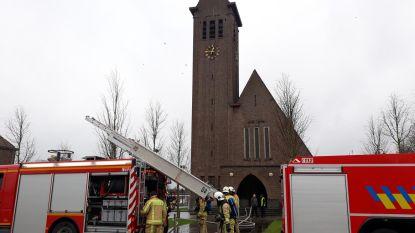 'Brand' in kerk blijkt condensatiedamp