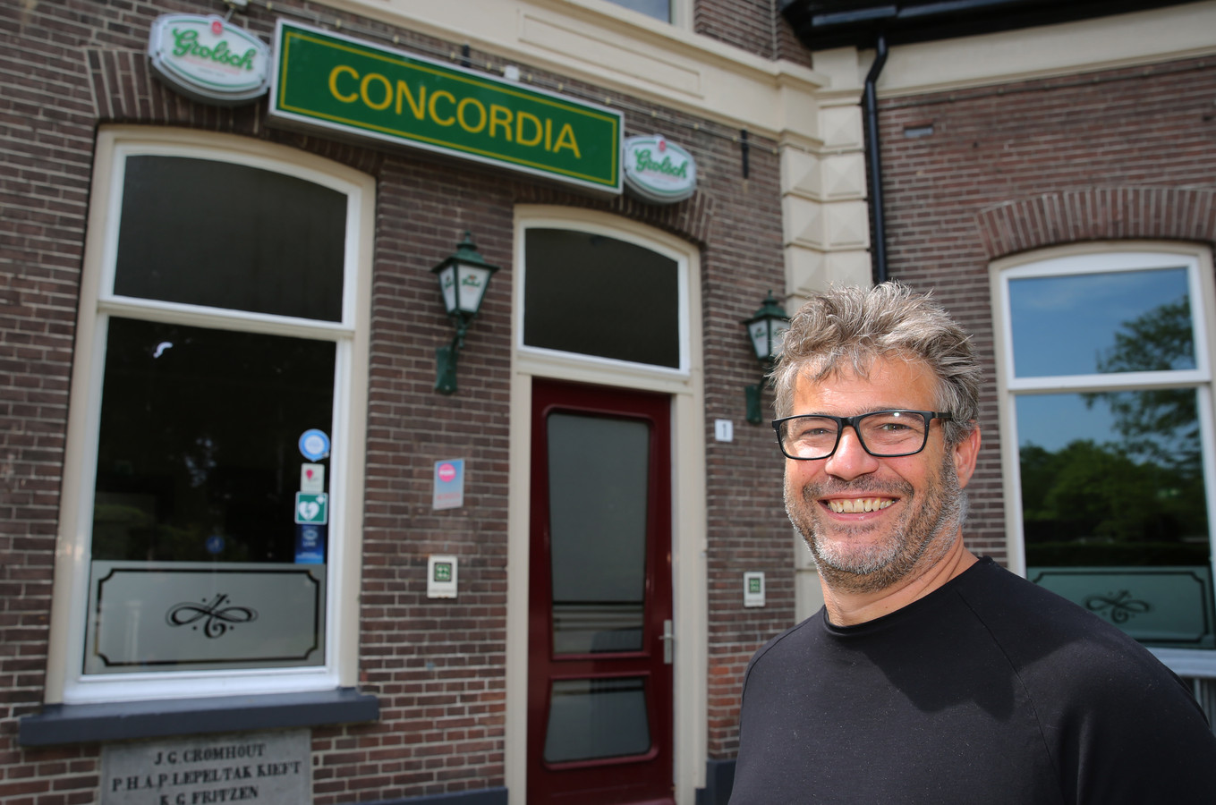 Gerben Wechgelaer wil het café van Concordia opstuwen. ,,Brummen mist een verlengde huiskamer.''