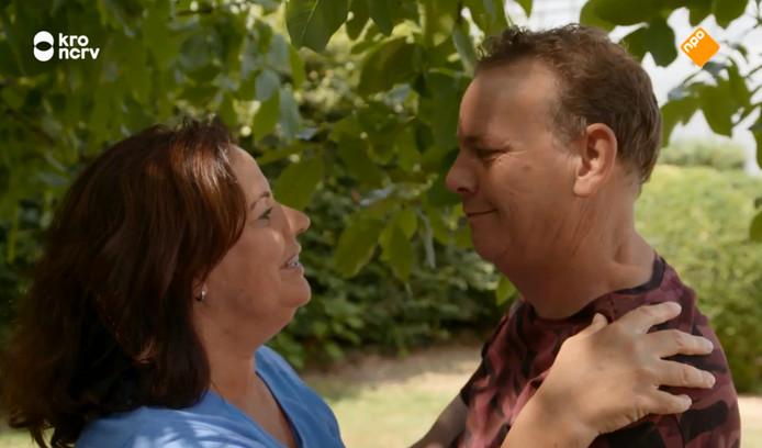 Jaap en Petra nadat Jaap voor Marian koos.