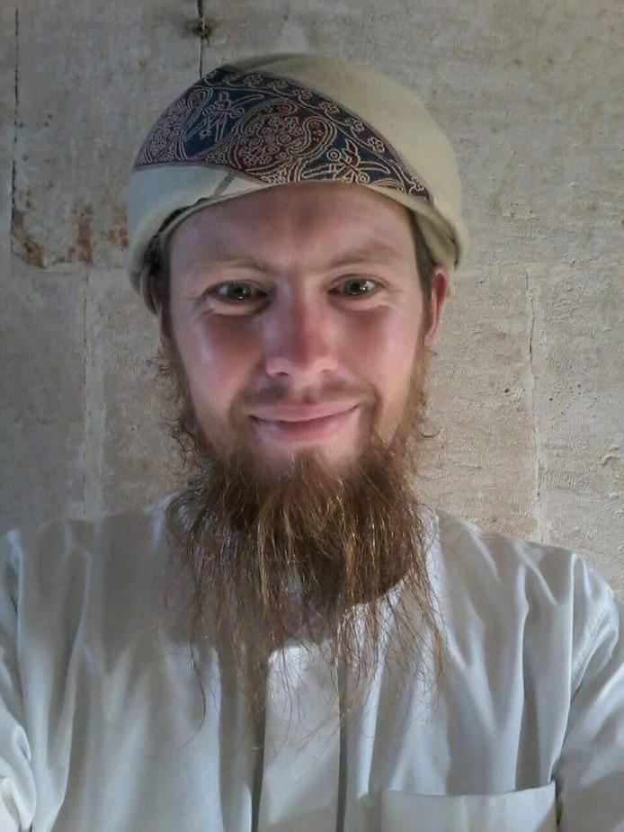 Victor Droste alias Zakariyya Droste jihadist  FOTO: Facebook