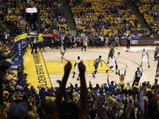 Durant en Thompson loodsen Warriors weer langs Spurs