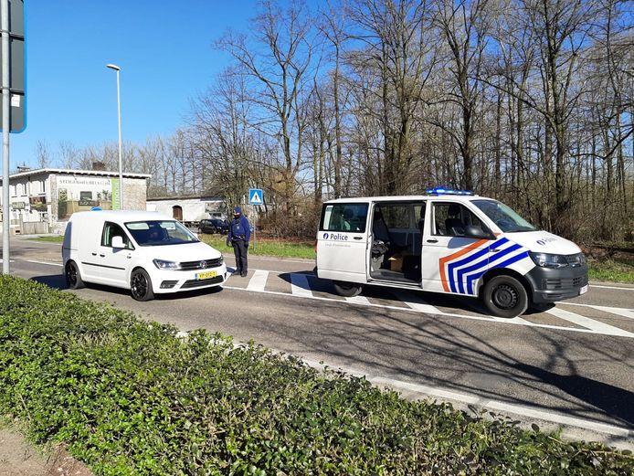De grens met België is gesloten.