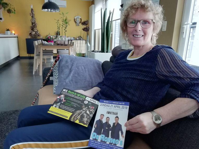 Peggy Goossens houdt voor de tweede keer de MS Run.