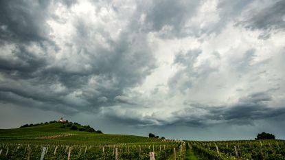 Wind is eindelijk gaan liggen: zonnige voormiddag, daarna wolken en regen