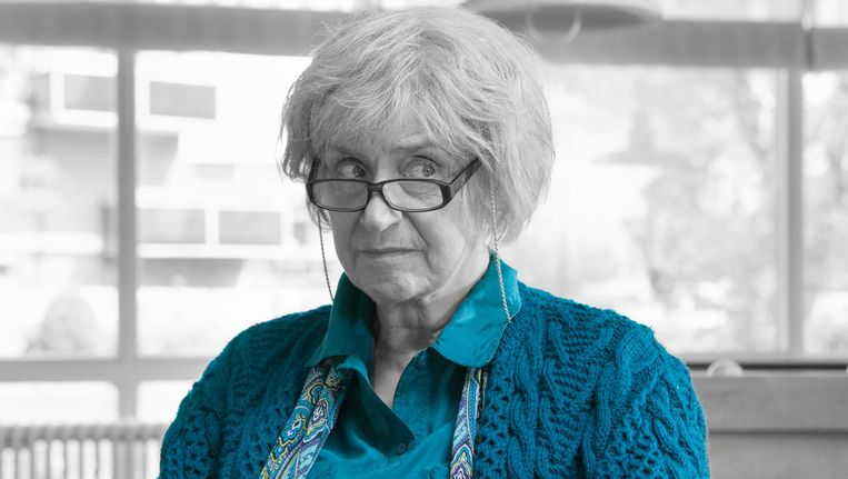 Olga Zuiderhoek in Het geheime dagboek van Hendrik Groen. Beeld Elmer van der Marel