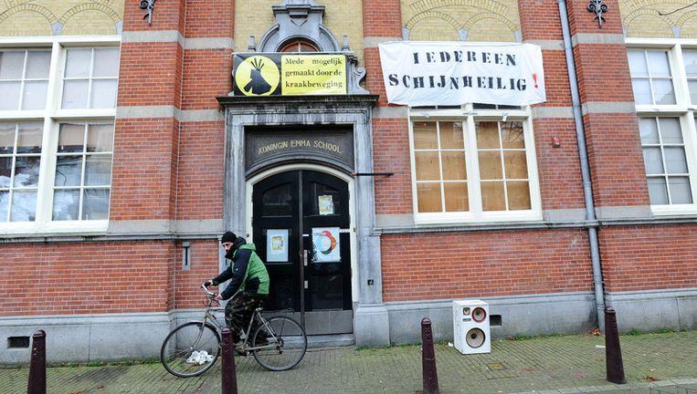 Kraakpand Schijnheilig aan de Passeerdergracht in Amsterdam. Foto ANP Beeld