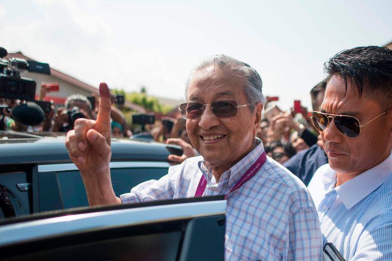 Mahathir Mohamad is de nieuwe premier van Maleisië.
