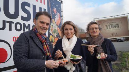 Eerste sushiautomaat van Vlaanderen komt  in Lichtervelde dankzij Tieltse foodbar