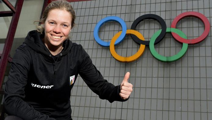 La skieuse Katrien Aerts.