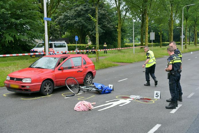 De verkeersongevallenanalyse van de politie deed na het ongeluk onderzoek waarbij de Rueckertbaan afgesloten is.