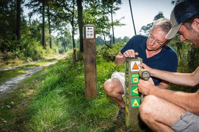 Wandel- en fietsroutes van de Brabantse Wal worden opnieuw gemarkeerd.