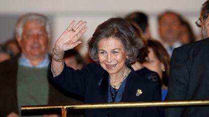 Zorgen om Spaanse koningin Sofia