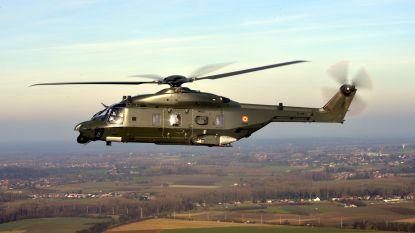 Belgische NH90 in Mali ingezet om medische evacuatie te beschermen