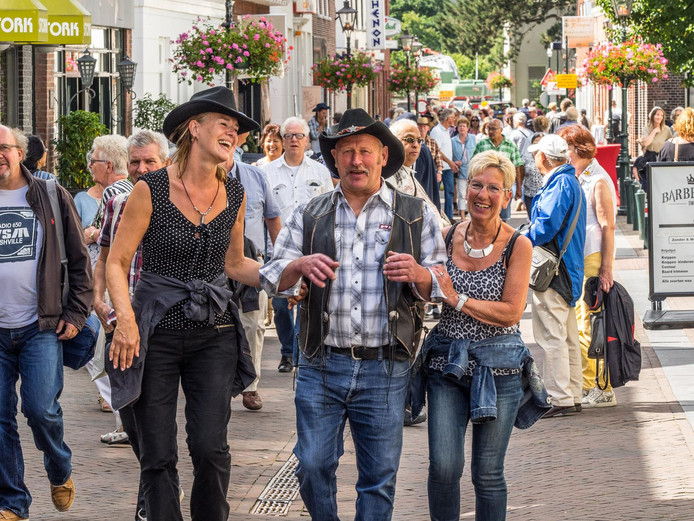 Country Western Festival Dorpsstraat 2016
