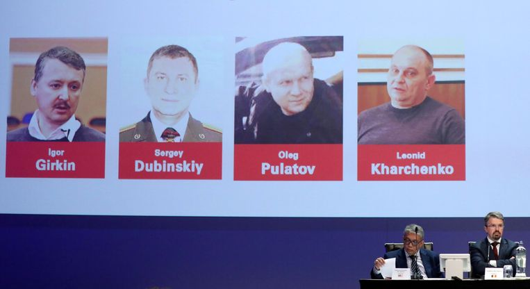 De vier hoofdverdachten die het OM al heeft aangewezen. Vladimir Tsemach is nog niet formeel aangemerkt als verdachte, alleen als getuige. Beeld REUTERS