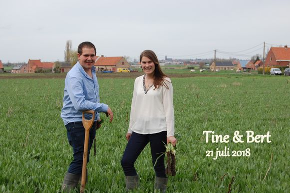 Bert Vanoverberghe en Tine Maes