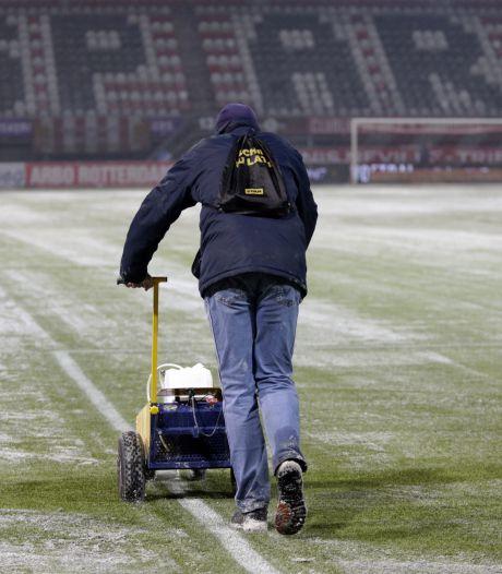Sneeuw op Kasteel betekent 'gratis' buitenspel staan bij Sparta-PSV