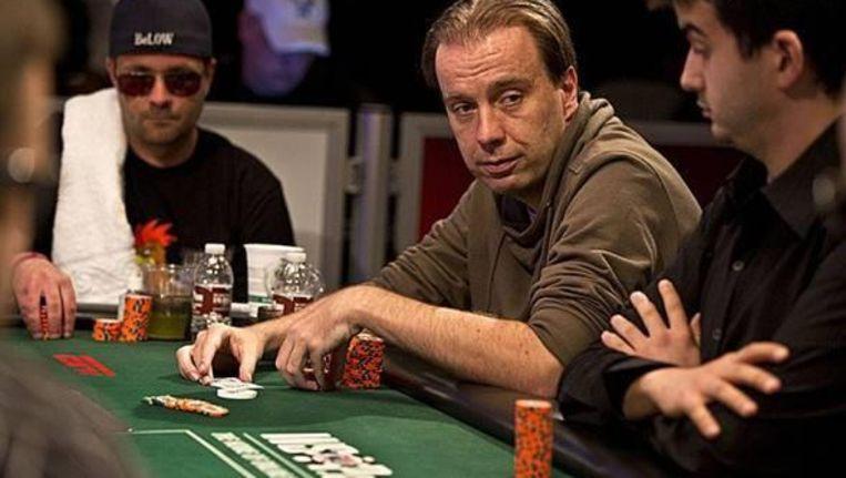 Marcel Vonk aan de pokertafel. Beeld PokerNews.nl