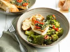 Wat Eten We Vandaag: Bagna cauda met schelvis en broccoli