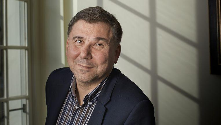 De Bulgaarse politicoloog Ivan Krastev heeft grote moeite met het fenomeen 'referendum'. Beeld Mark Kohn