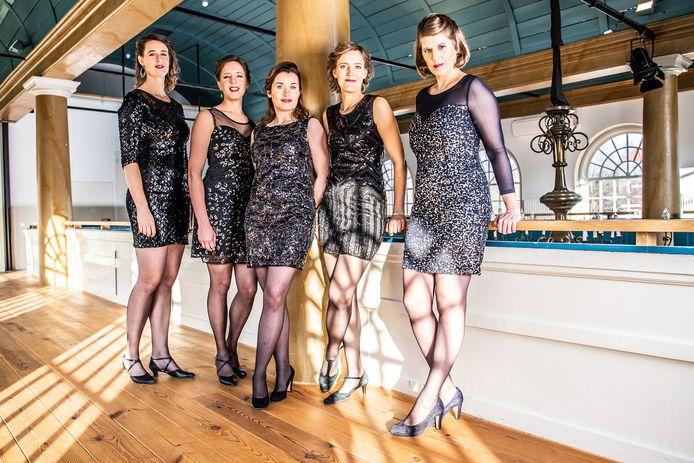 Kwintet Wishful Singing zingt zaterdag 7 maart Vespers in Mysterium in Lierop.