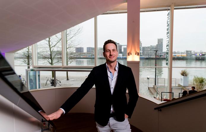 Pepijn Kuyper, de nieuwe directeur van Lantaren Venster. FOTO MARCO DE SWART