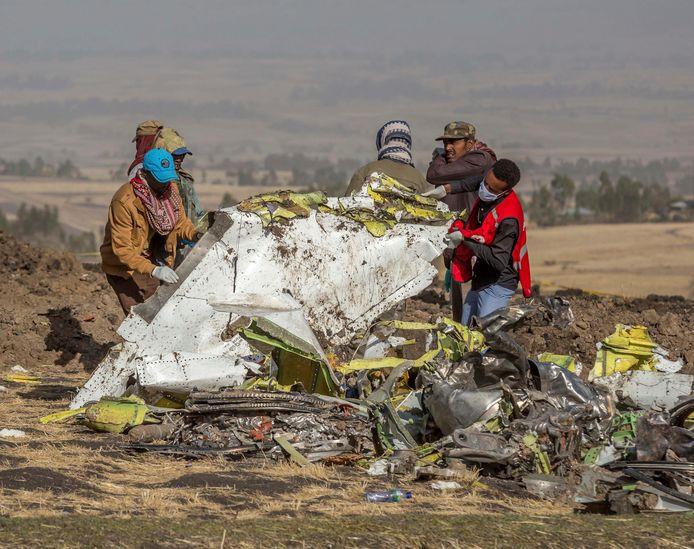 Een Boeing 737 Max van Ethiopian Airlines stortte neer op 10 maart 2019. Alle 157 inzittenden kwamen om.