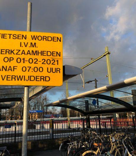 Nieuwe stationsstalling Etten-Leur: fietsen verwijderd