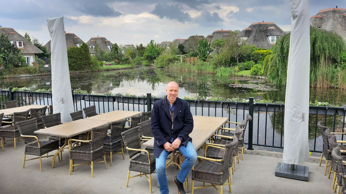 Johan Janzen is enthousiast over de plannen voor een seniorenbuurt in het vakantiepark Città Romana.