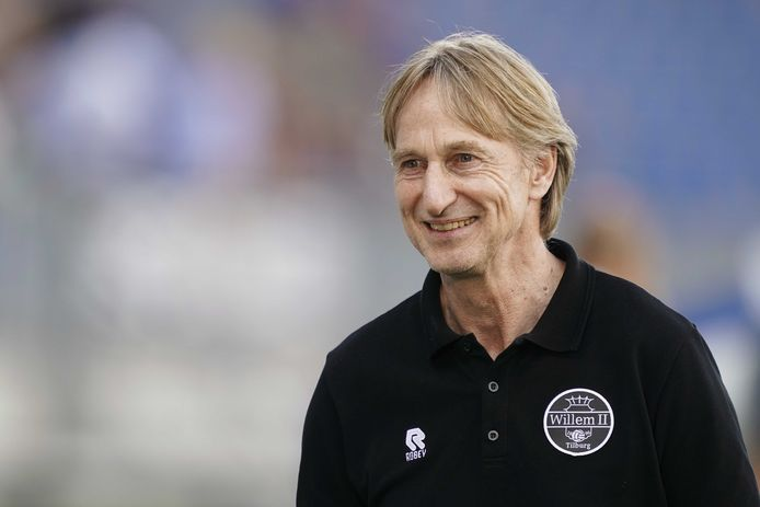 Willem II-trainer Adrie Koster