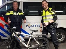 Wijkagent uit Roosendaal slachtoffer van diefstal, dienstfiets snel weer teruggevonden