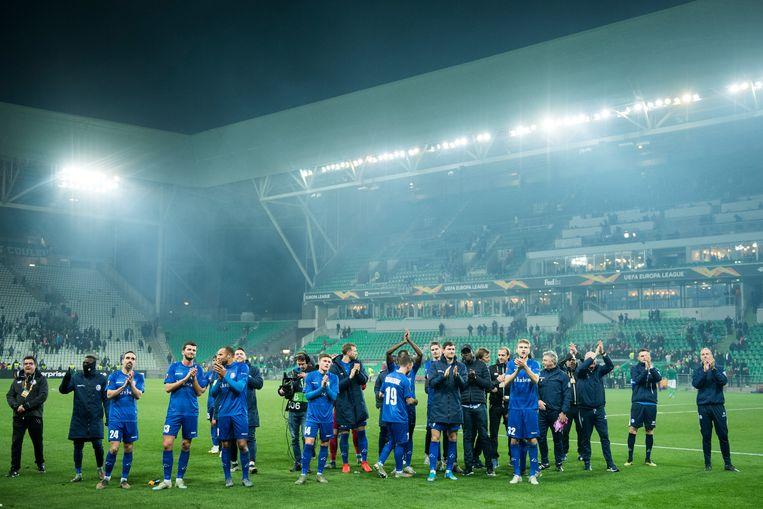 De Buffalo's zijn voortaan de hoogst genoteerde Belgische club op de UEFA Ranking
