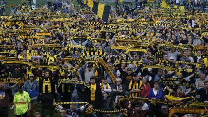 """""""17 jaar wanbeleid"""": supporters van Lierse houden wake op het Lisp voor hun ter ziele gegane club"""