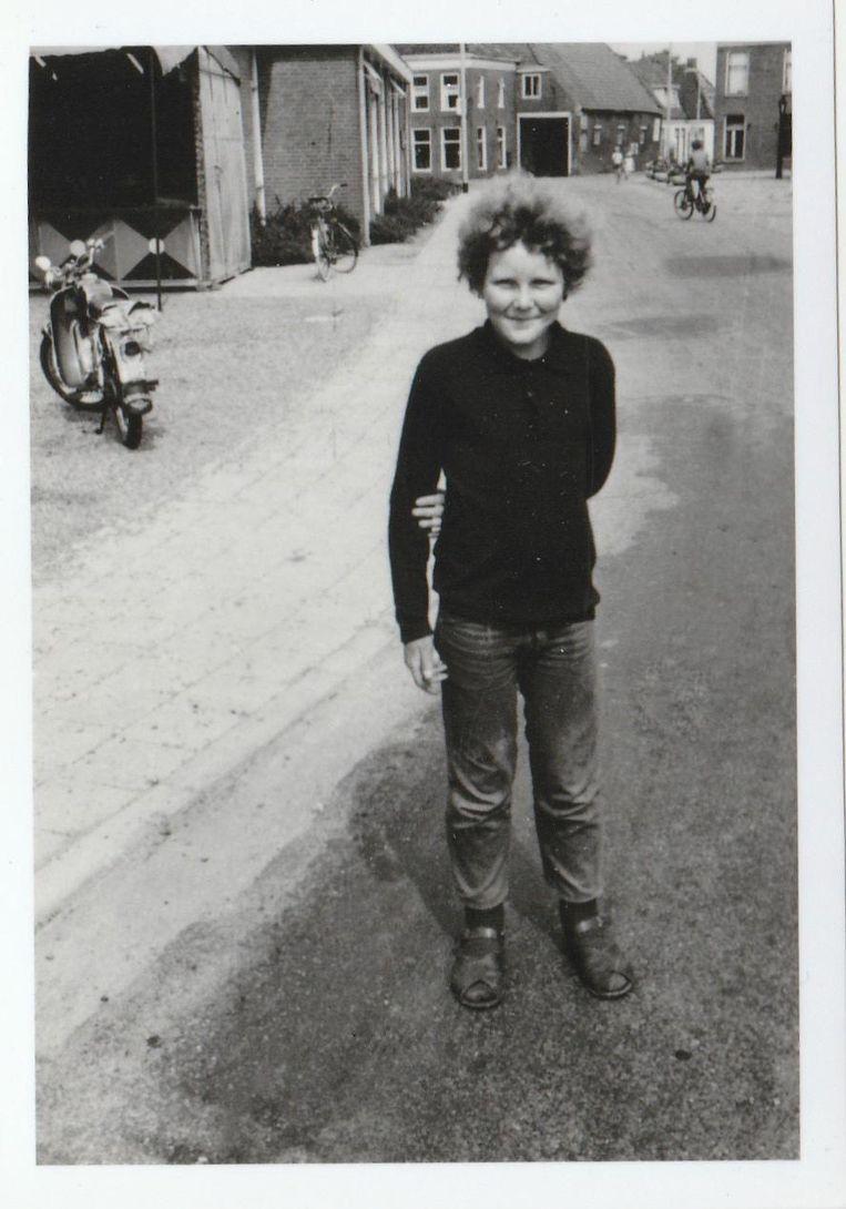 Op deze foto is Moorlag een jaar of 11. Beeld .