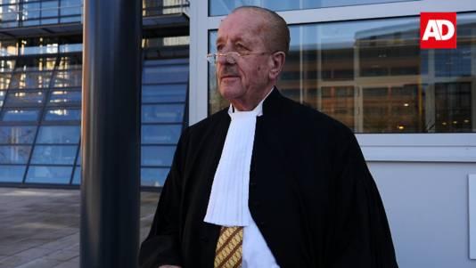Theo Hiddema voor de rechtbank in Utrecht