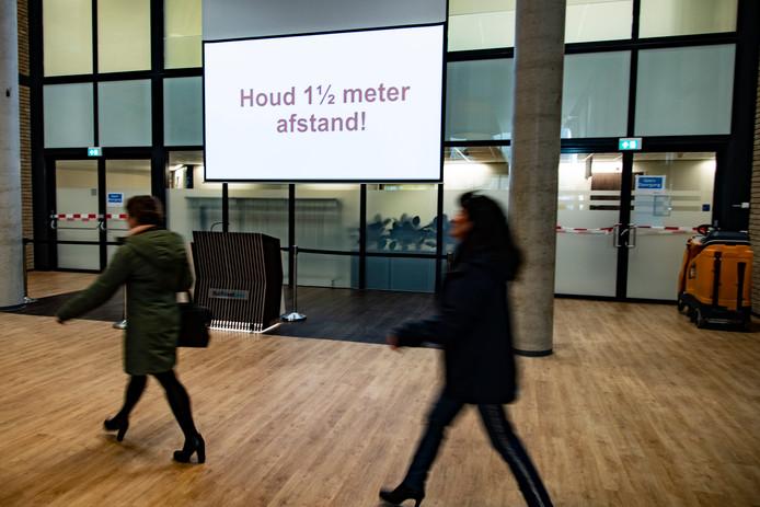 Coronatestcentrum voor medewerkers Radboudumc.