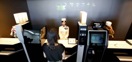 Japans robothotel ontslaat helft androids wegens wanprestaties