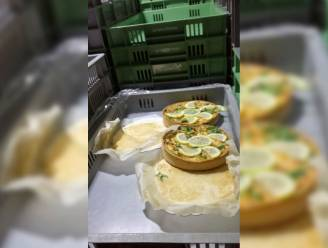 Vrachtwagen met taarten en quiches is te zwaar geladen: chauffeur moet overtollige lading overladen