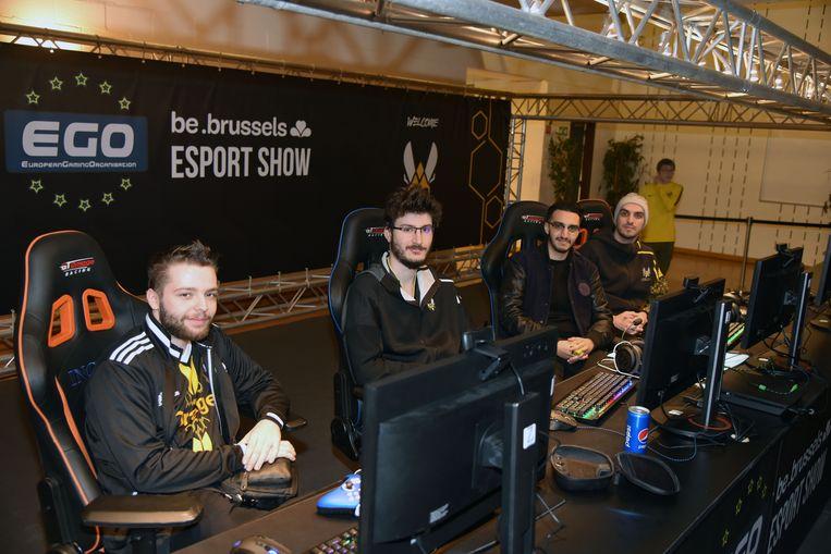 Be.Brussels Esport Show evenement voor gamers.