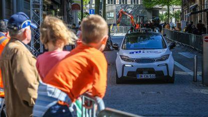 Zelfrijdende auto test Leuvense straten
