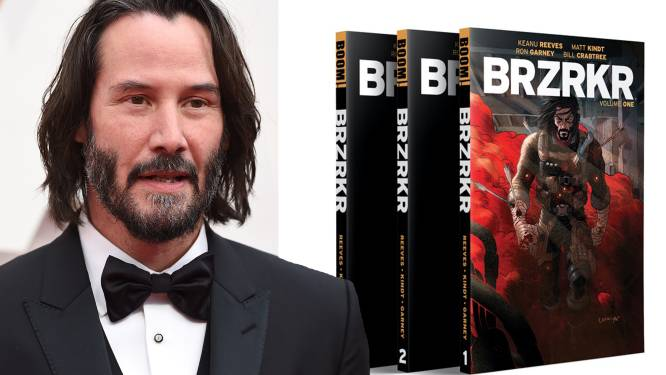 Keanu Reeves start crowdfundingcampagne op voor eerste graphic novel