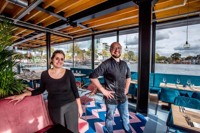 Michelle en Giel van restaurant RAK.