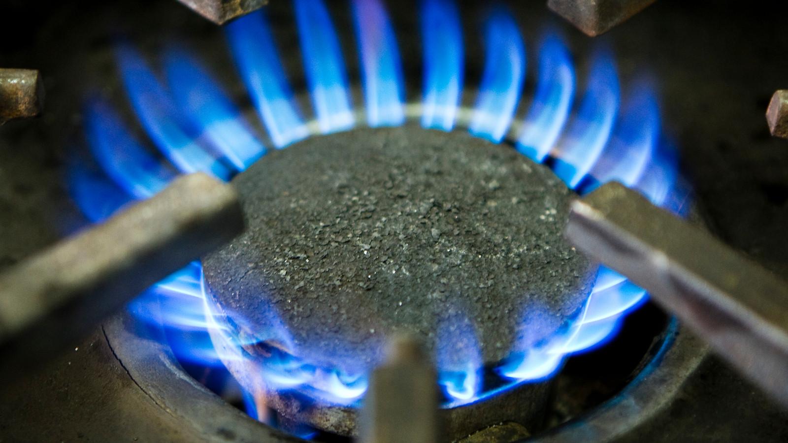 Een gasfornuis