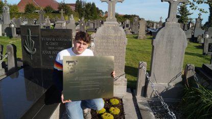Dylan eert soldaat met gedenkplaat, precies 100 jaar na zijn dood