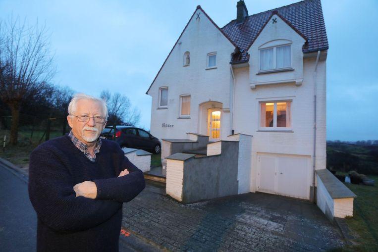 De gevel van Guy Hens (69) werd voor de tweede keer in minder dan acht maanden tijd met eieren besmeurd.