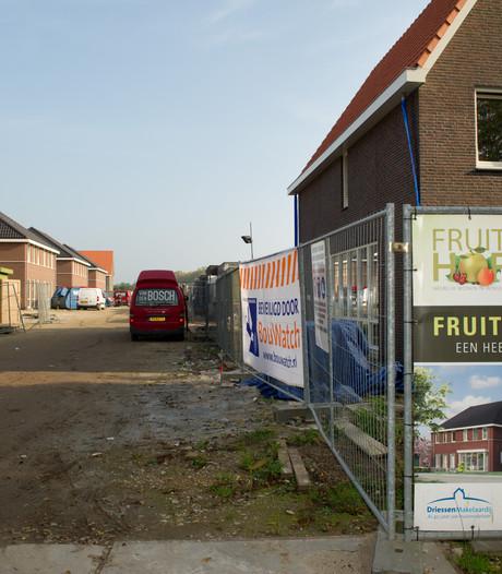 Veel animo voor woningen Fruithof
